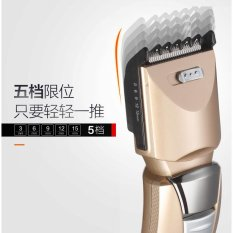 Haier Electric Barber Shears Push Dewasa Hair Salon Hair Clippers Rechargeable Electric Razor Alat Rumah Tangga-Intl