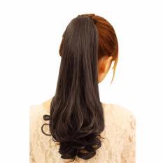 Hair Clip Ponytail Curly Panjang Ikat Tali Wig Ponytail Rambut Palsu