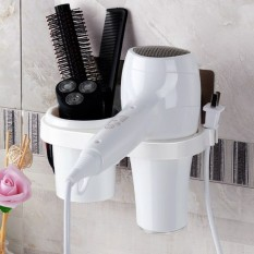 Pengering Rambut Tidak Perlu Selusin Bore Toilet untuk Menggantungkan Dinding Pemasangan Terbaik Multi Fungsi menaruh Rambut Pengering Tabung Rak Domestik Pengeluaran Gantung-Internasional