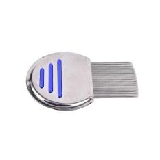 Rambut Kutu Sisir Sikat NIT Free Terminator Fine Tooth Removal Stainless Steel-Intl