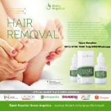 Spesifikasi Hair Removal Green Angelica Perontok Bulu Paling Ampuh Paling Laris Lengkap