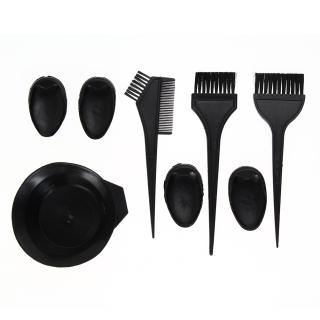 Crystalawaking Salon Rambut Kuas Set Mangkuk Minyak thumbnail