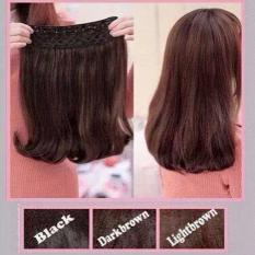 Jual Beli Hairclip Cantik Big Layer 40Cm Short Blow Light Brown Jawa Timur