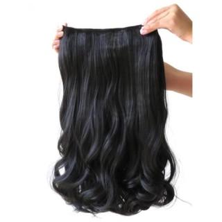 Hairclip Wavy 55cm PREMIUM (BLACK) thumbnail