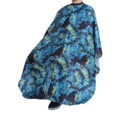 Justgogo Hairdressing Cloth Barber Cape Hair Styling Apron (blue Scrawl) By Justgogo.