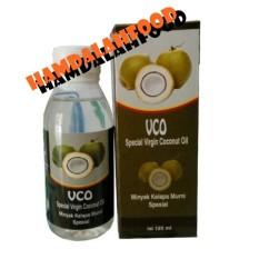 Hamdalahfood Kemasan Baru VCO Special Virgin Coconut Oil Minyak Kelapa Murni Spesial 125ml
