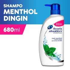 Spesifikasi H S Shampo 680Ml Cool Menthol Terbaru