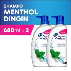 Cuci Gudang H S Shampoo 680Mlx6 Cool Menthol Tdnt Thphid Exp G Pack Of 2