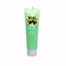 Hanasui Body Spa Exfoliating Gel With Collagen Peeling Gel Perontok Daki - Aloe Vera