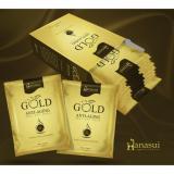 Harga Hanasui Gold Masker Wajah Naturgo 5 Box Isi 50 Sachet Paling Murah