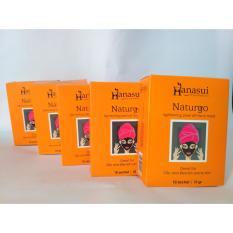 Daftar Harga Hanasui Masker Wajah Lumpur Naturgo 5 Box Isi 50 Sachet Hanasui