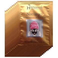 Hanasui Naturgo Masker Lumpur Wajah Sensitif 10 Sachet