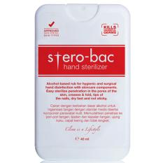 Jual Hand Sterilizer Sterobac 40Ml 4 Pcs Antik