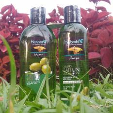 HANIN SHOP Paket Herborist  9( , SHAMPOO,Body Wash