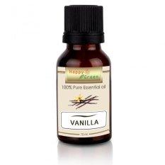 Happy Green Vanilla Essential Oil -10 ml - Minyak Vanili