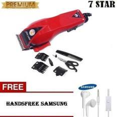 Beli Happy King 7Star 906 Alat Cukur Rambut Hair Clipper Trimmer Gratis Headset Samsung Untuk Semua Hp Original Dengan Kartu Kredit