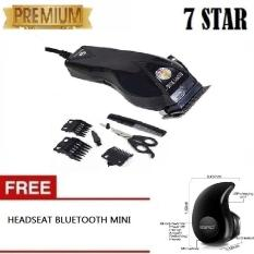 Beli Promo Alat Cukur Happy King Hk 900 Alat Cukur Rambut Hair Clipper Trimmer Gratis Bluetooth Mini Keong Single Untuk Semua Hp Dengan Mic Untuk Telpon Headset Bluetooth Earphone Wireless Secara Angsuran