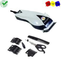 Happy King HK-900 Alat Cukur Rambut Profesional Hemat Energi Hair Clipper Trimmer Mesin Potong Professional Groomer 3 Mata Pisau Tajam - 1pcs