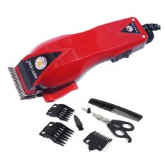 Happy King HK-900 Professional Hair Clipper Trimmer Mesin Alat Cukur - Merah