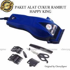 Happy King Mesin Alat Cukur Rambut Pria Hk 900 Professional Hair Clipper Trimmer Mesin Alat Cukur Biru Tua Dki Jakarta Diskon