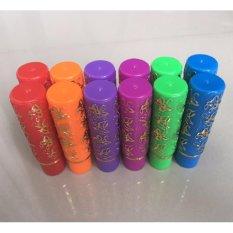 Hare Lipstick Arab Rainbow Warna Warni - 12pc