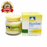 Toko Hazeline Snow Moisturising Cream 100G Original Import Malaysia Krim Pelembab Termurah Di West Sumatra