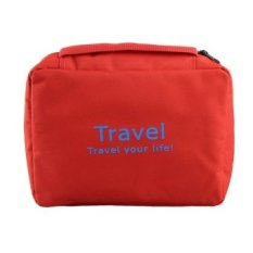 HB Make up bag naturehike necessaries beauty cosmetic bags case Red - intl