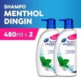 Head Shoulders Shampoo Cool Menthol 480 Ml Paket Isi 2 Diskon Akhir Tahun
