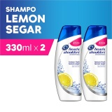 Beli Head Shoulders Shampoo Lemon Fresh 330 Ml Pack Of 2 Cicil