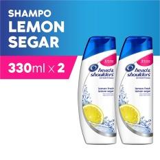 Jual Head Shoulders Shampoo Lemon Fresh 330 Ml Pack Of 2 Antik