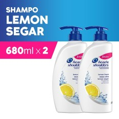Jual Head Shoulders Shampoo Lemon Fresh 680Ml Pack Of 2 Jawa Barat