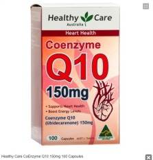 Beli Healthy Care Coenzyme Q10 150Mg 100 Capsules Kredit Indonesia