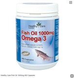 Jual Healthy Care Fish Oil 1000Mg 400 Capsules Murah Indonesia