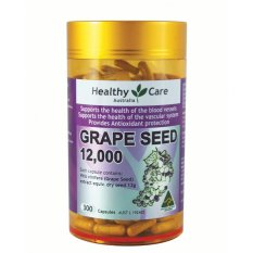 Jual Healthy Care Grapeseed Extract 12000 300 Kapsul Healthy Care Ori