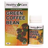 Harga Healthy Care Green Coffee Bean 60 Capsules Fullset Murah