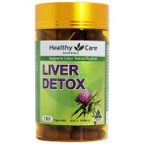 Healthy Care Liver Detox 50 Days 100 Capsules Indonesia Diskon