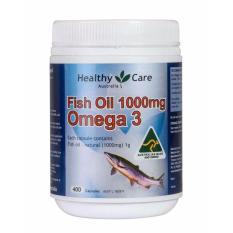 Toko Healthy Care Omega 3 Fish Oil 1000Mg 400 Kapsul Online Terpercaya