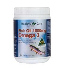 Toko Healthy Care Omega 3 Fish Oil 1000Mg 400Caps Healthy Care