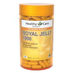 Harga Healthy Care Royal Jelly 1000 365 Capsules Yang Murah