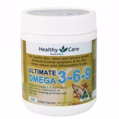Jual Healthy Care Ultimate Omega 3 6 9 200 Kapsul Termurah