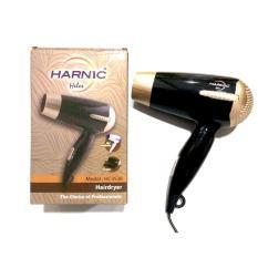 Heles HL-3536 Hair Dryer 450W Pengering Rambut – Hitam Gold