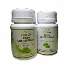 Toko Jual Hendel Exitox Green Coffee Bean Extract 500 Mg Original
