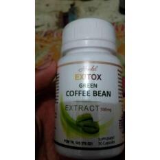 Hendel Exitox Green Coffee Bean Extract / Obat Pelangsing Badan Herbal Alami / Suplemen Diet Cepat - 30 Kapsul
