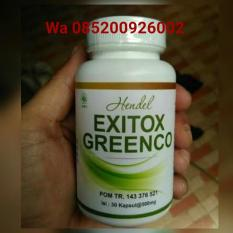 Hendel EXITOX Green Coffee Bean Pelangsing Badan Herbal