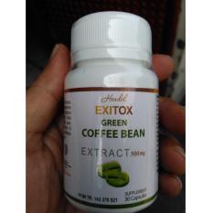 Hendel Green Coffee Bean Extract - 30 kapsul