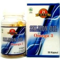 Herbal 21 Minyak Ikan Salmon Omega 3 - 50 Kapsul