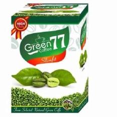 Herbal Green Coffee Slimfit 77 - 5 Sachet Minuman Kopi Hijau Diet Pelangsing leptin Hendel exitox