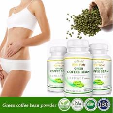 Herbal - Herbal - Paket 10 Botol Exitox Green Coffee bean Extract 500Mg Jaminan 100% Asli Pelangsing Cepat Alami.