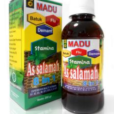 Herbal Madu batuk  Assalamah 8 in 1