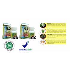 Herbal Ratu Langsing Obat Herbal Pelangsing Badan Alami BPOM - 2 Botol @60 Kapsul